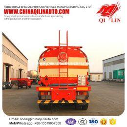 Special Design 5 Compartments Flammable Oil Tanker Semi Trailer