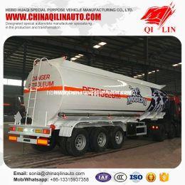 43000L Aluminum Alloy Light Curb Weight Diesel Tanker Semi Trailer