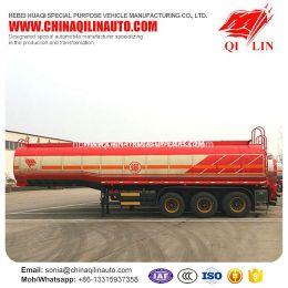Qilin 3 Axles Asphalt Bitumen Transport Insulated Tanker Semi Traile