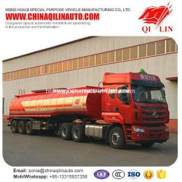 Cheap Price 12 Tires Crude Oil Carrier Tanker Semi Trailer