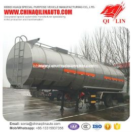 Oil Tanker Semi Trailer with 100mm Thermal Insulation Layer
