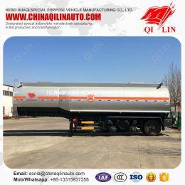 36cbm Tanker Semi Trailer for Ammonium Hydroxide Loading