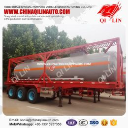35000liters 30FT Tanker Trailer with Container Locks