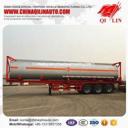 2019 New Design ISO 40FT 20FT Tanker Semi Trailer
