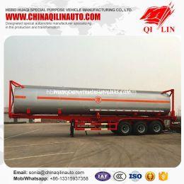 2019 New Design ISO 40FT 20FT Tanker Semi Trailer