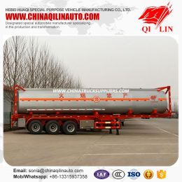 3 Axles ISO 40FT Container Tanker Semi Trailer for Kenya