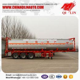 3 Axles ISO 40FT Container Tanker Semi Trailer for Kenya