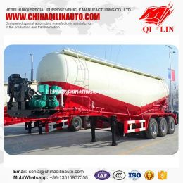 Widely Used 10 Tons Concrete Powder Transport Tanker Semi Trailer