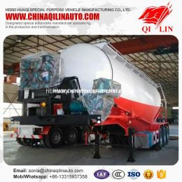 Fly Ash Transport Tanker Trailer with CCC ISO Certificate
