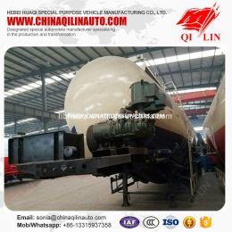 Qilin 50cbm - 70cbm Bulk Cement Powder Tanker Trailer for Africa