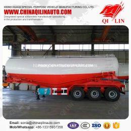 50cbm 3 Axles Tanker Semi Trailer for Transport Power Material