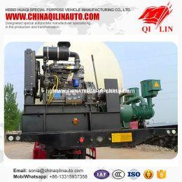 50000 Liters Smokeless Coal Powder Tank Truck Semi Trailer