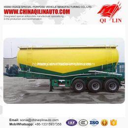 50 Tons Payload 40cbm Bulk Cement Silo Truck Semi Trailer