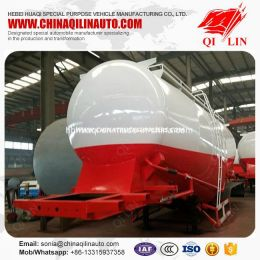 High Quality with 3 Compartments Mineral Powder Tank Semi Trailer for Africa