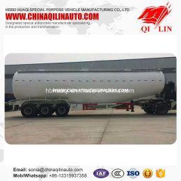 70 Cbm Bulk Cement Tank Semi Trailer with Electric Engine