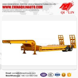 2 Axles Lowbed Trail