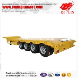 4 Axle Low Loader Trailer with 8 Pieces Screwed Locks