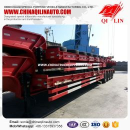 4axle Heavy Duty Lowbed Semi Trailer