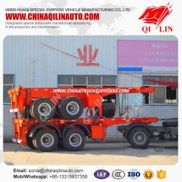 2 Axle Skeleton Container Chassis or Truck Semi Trailer