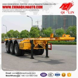 China Supplier Skeleton Container Semi Trailer Price for Sale