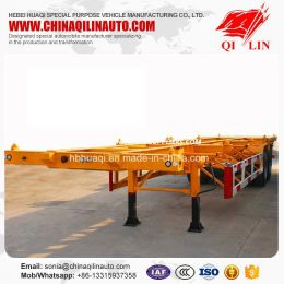 Cheap Price 2 Axles 20FT 40FT Container Skeleton Semi Trailer