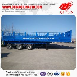 Drop Side Wall Semi Trailer with Fence Detachable