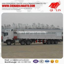 30 Tons Payload Agricultural Product Transport Semi Trailer