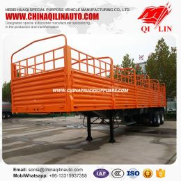 Side Wall Open Warehouse Semi Trailer with German Suspension