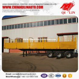 Bulk Carrier Cargo Trailer with High Fence