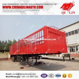 High Fence Cargo Trailer for Bulk Carrier