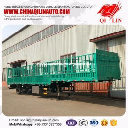 Cargo Semi Trailer for Farm Products Loading