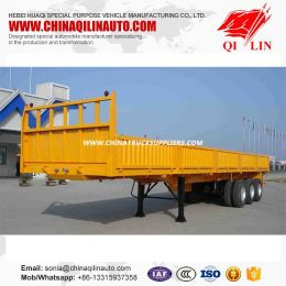 Side Wall Open Utility Trailer with Detachable Fence