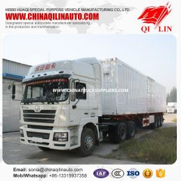 Special Truck Van Semi Trailer with Mechanical Suspension
