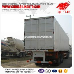 China Factory 40FT Container Trailer with Side Door Detachable