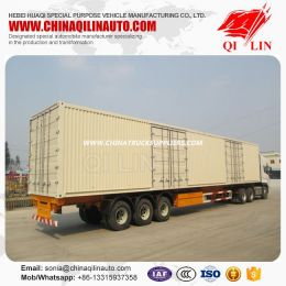 Heavy Duty Truck 50ton Capacity Container Trailer with Mechanical Suspension