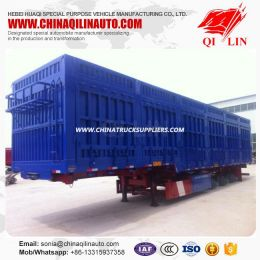 2019 New Style Warehouse Semi Trailer with Side Wall Detachabl