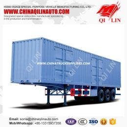 40feet Box Van Container Semi Trailer