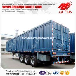 12.5 Meter 3 Axle Box Semitrailer for Sale