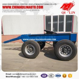 China Double Axles Full Drawbar Dolly Trailer for Sale