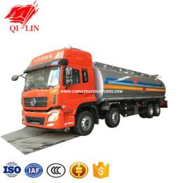 Dongfeng 30000 Litres Stainless Steel Petrol Tanker Truck