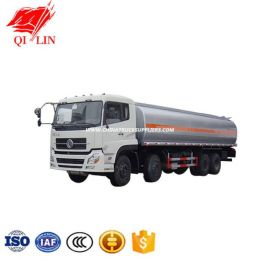 High Quality Dongfeng 8*4 30cbm Oil Tanker Truck Fuel Tank Truck Gasoline Delivery Truck