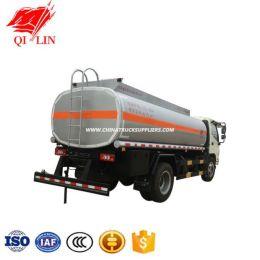 Foton Chassis 3800mm Wheelbase 8cbm Capacity Oil Tanker Truck