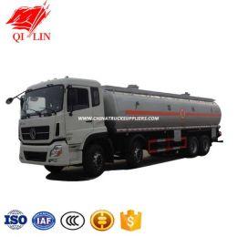 Dongfeng 35000~40000 Liter Aluminum Steel Oil Tank Truck, Aluminum Steel Mobile Fuel Tanker