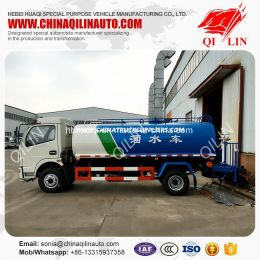 Carbon Steel 2500-3000 Us Gallon Water Tank Truck for Sale