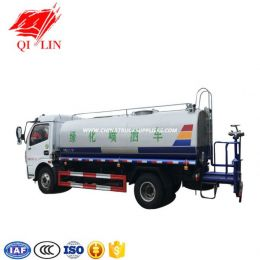 Hot Sale Watering Curt Tanker Truck with 6 Gears Manual Transmission