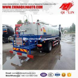 Emission Euro 3 Water Tank Truck