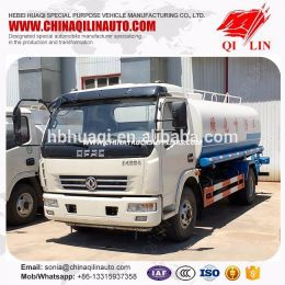 Euro IV Truck Tank Water for Regar Con Cisterna Acero De Buena Calidada Dongfeng