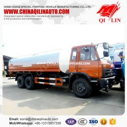 Dongfeng Left Hand Drive 20000liters Water Tank Truck with Spraying