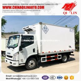 Max Speed 95km/H Cold Storage Truck with Diesel Engine