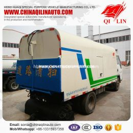 Cheap Price Forland 4X2 Road Sweeper Tanker Truck for Sale